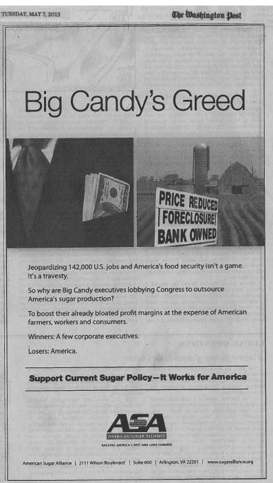 Big Sugar Ad